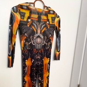 Boys Transformers Jumpsuit Costume - Small